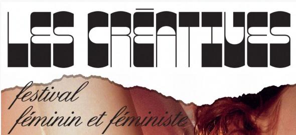 lettres affiche le féstival les créatives