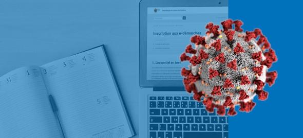 Agenda fiscal modifié pour cause de coronavirus