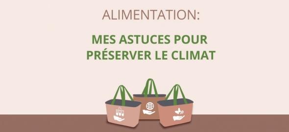 Alimentation : mes astuces pour préserver le climat