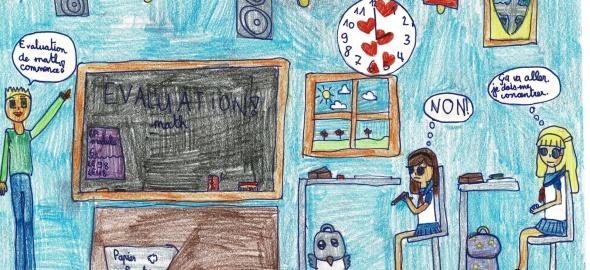 Arine, 6P, école de Bois-des-Arts