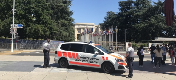 Police internationale Genève