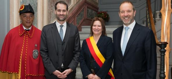Prestation de serment de Madame Sylvie Malherbe, adjointe au maire de la commune de Collex-Bossy