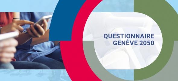 Questionnaire Genève 2050 au mois de mai 2019