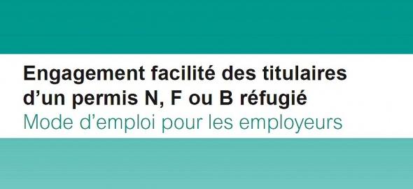 Engagement facilité des titulaires d'un permis N, F ou B réfugié