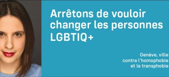 titre campagne LGBT ville de genève