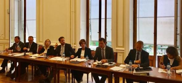 Le Conseil d'Etat in corpore le 14 septembre 2018 (Photo Chancellerie)