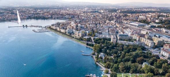 La rade de Genève