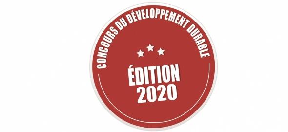 Logo - Concours cantonal du développement durable 2020