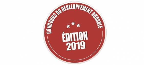 Logo - Concours cantonal du développement durable 2019