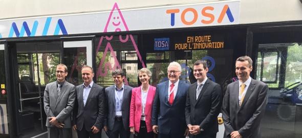 TOSA nouveau bus
