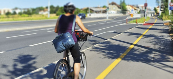 Vélo piste cyclable