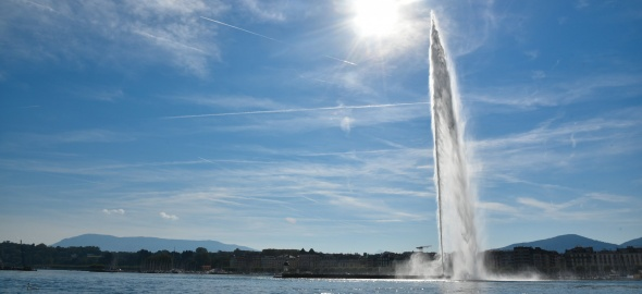 Genève sous le soleil