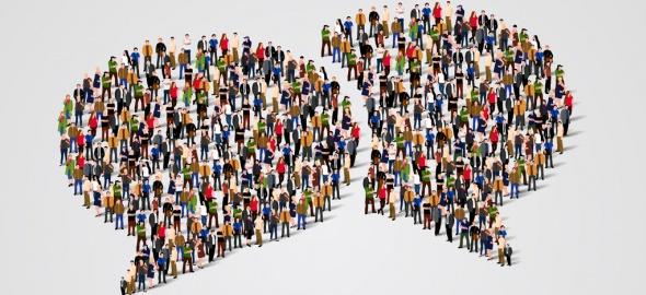 Illustration groupe des personnes