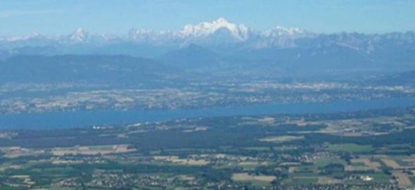 Vue sur le Grand Genève