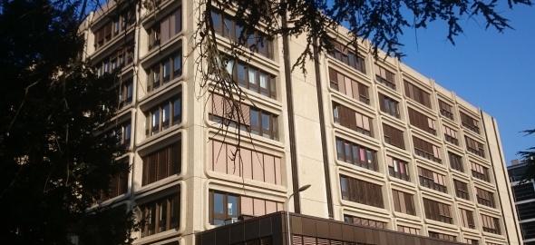 L'Hôtel des finances, où siège la commission fiscale du Grand Conseil