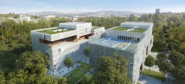 Nouvelle résidence pour étudiants / © IHEID