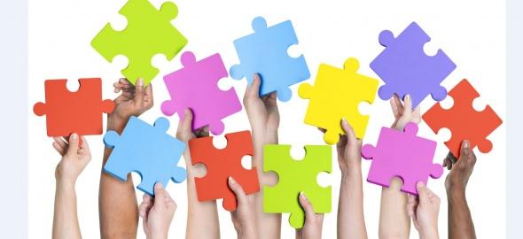 les puzzels de tous les couleurs