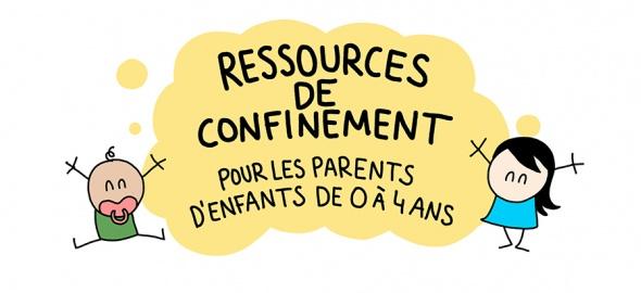 resources de confinement enfants