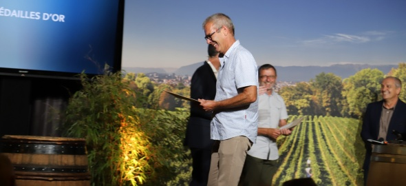 M. Thierry Anet, Chef du Vignoble de l'Etat de Genève