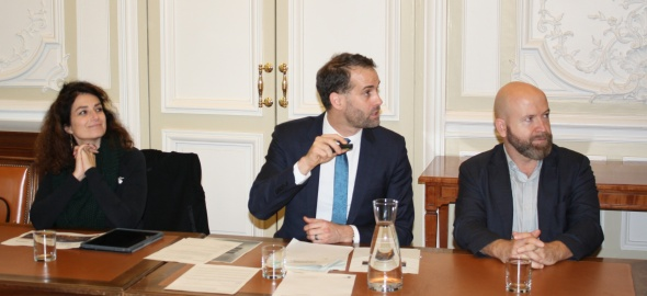 point presse du Conseil d'Etat du 6 novembre avec M. Nicolas Walder, CA Carouge