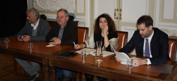 Yvan Rochat, Pierre-Alain Tschudi, Michèle Righetti, Antonio Hodgers