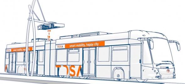 Schéma bus TOSA
