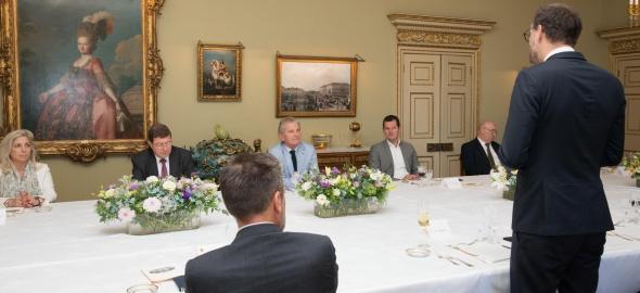 Déjeuner de courtoisie en l'honneur de Monsieur Ivan Pictet, président de la Fondation pour Genève