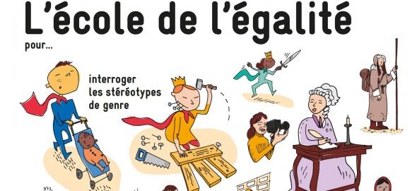 dessins activités école de l'égalité
