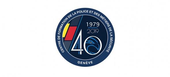Badge des 40 ans du centre de formation
