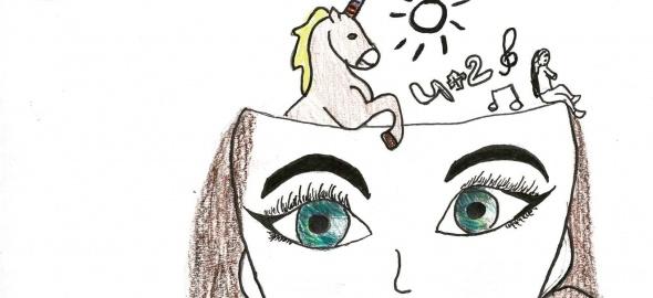 dessin de Maylis, 8P, école de Pré-Picot