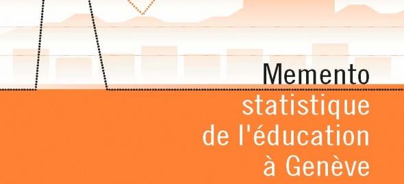page de couverture du memento statistique de l'éducation à Genève - 2018