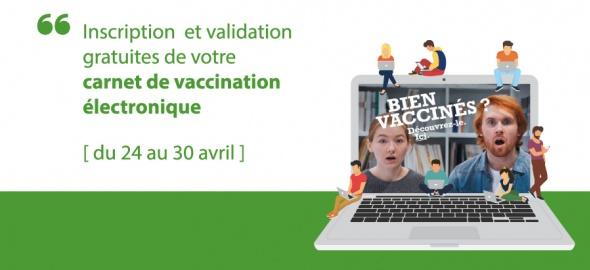 Créez votre carnet de vaccination électronique et gagnez la validation de vos vaccins !
