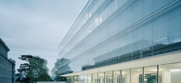 Nouveau bâtiment de l'OMC, inauguré le 30 juin 2013 / Coût : 130 mio CHF / @ OMC
