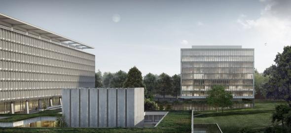 Vue d'ensemble / © OMS et BBK Architekten