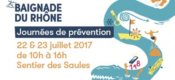Journées de prévention - Baignade du Rhône