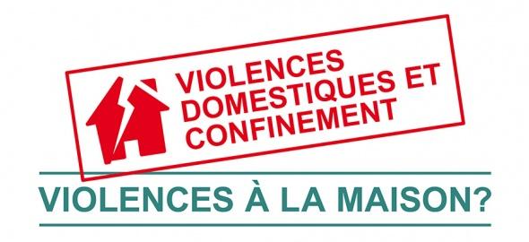 symbole de la maison qui subit des violences domestiques pendant le confinement