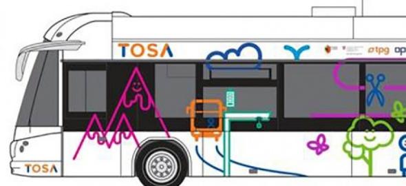 Un bus TOSA