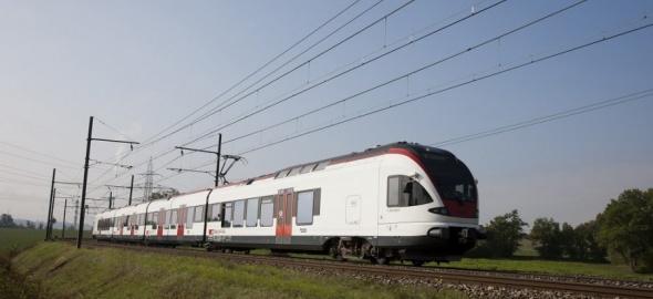 Le train à La Plaine