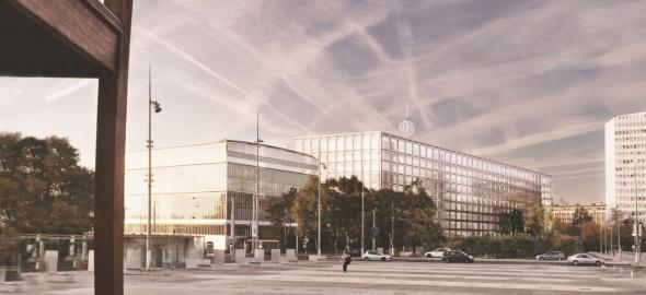 Nouveau bâtiment / © UIT