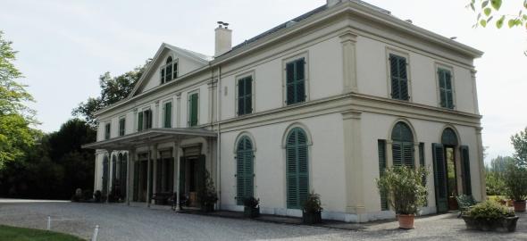 Maison de maître, façades nord-ouest et sud-ouest. Copyright: IMAH – C. Theiller