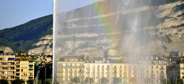 Rade de Genève - Arc-en-ciel