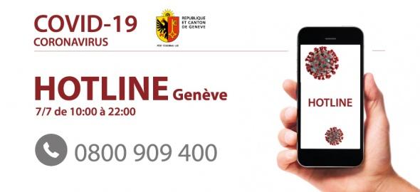 0800 909 400 - la ligne info genevoise dédiée à COVID-19 a été activée