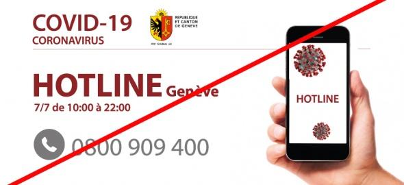 Fin hotline COVID