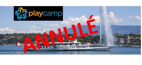 Annulation Playcamp 2020