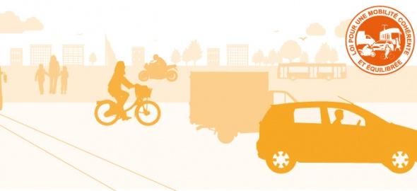 visuelle loi pour une mobilité cohérente et équilibrée