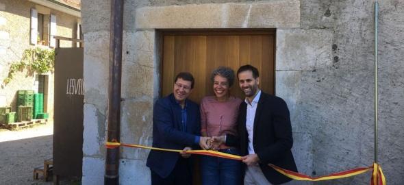 Inauguration Maison de l'alimentation