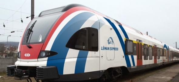 Le Léman express reliera 45 gares de Genève et de ses alentours