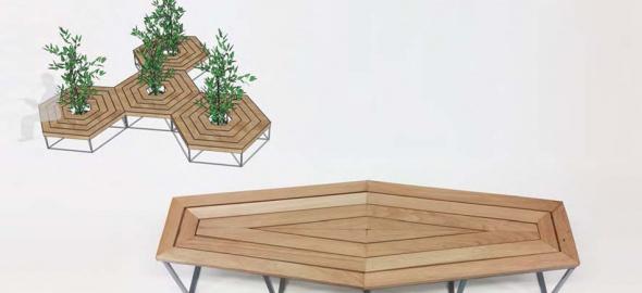mobilier urbain destinées aux collectivités publiques
