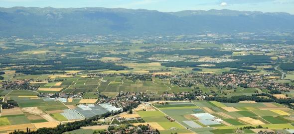 Genève vue du Salève. Photo: ADR