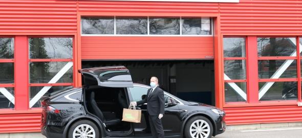 Globe Limousine livraison de marchandises Covid-19